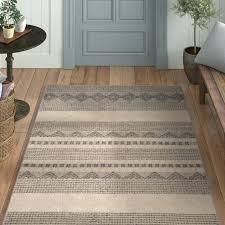 wayfair outdoor rugs indoor outdoor rugs fresh laurel foundry modern farmhouse hand tufted grey ivory area