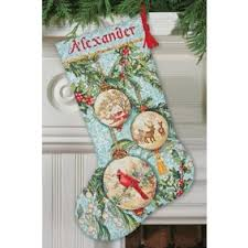 Cross Stitch Stocking Patterns Adorable Cross Stitch Christmas Stocking Kits MerryStockings