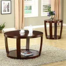 dark cherry wood coffee table set full size