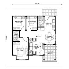Small Picture Small House Design SHD 2015013 Pinoy ePlans