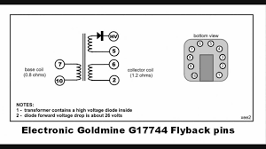 finding flyback pin connections finding flyback pin connections