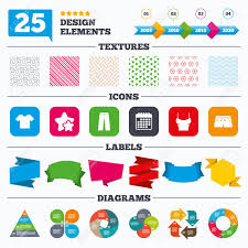 Offer Sale Tags Textures And Charts Clothes Icons T Shirt