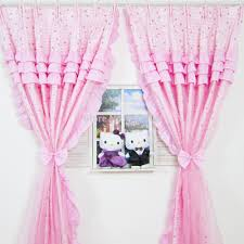 Lace Bedroom Curtains Curtain Ball Picture More Detailed Picture About Romantic Pink
