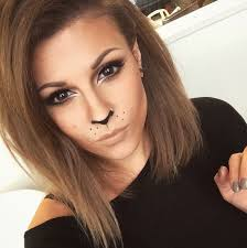 how to lion cat makeup beauty and the dirt and
