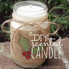 how to make this cute diy scented candle the perfect homemade gift