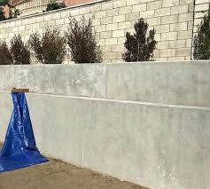 concrete retaining wall footing size walls landscaping network
