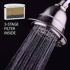 aquacare by hotelspa filtered shower brushed nickel finish
