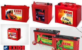 Exide Automotive Battery Application Chart Top 10 Battery Manufacturing Companies In India