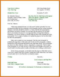 12 Proper Spacing In Business Letter Proposal Resume