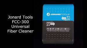 Jonard <b>Tools</b> FCC-300 - Universal <b>Fiber Connector Cleaner</b> ...
