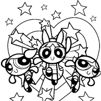 Small Picture PowerPuff Girls Coloring Page color power puff girls All Kids