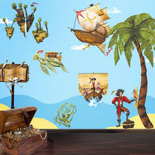 pirate wall stickers decals for boys