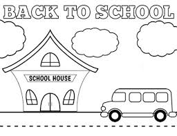 Small Picture Free Printable Back to School Coloring Sheets