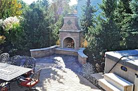 outdoor fireplace plans with oven designs diy custom wood burning design do yourself