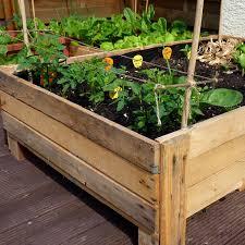container gardening diy planter box