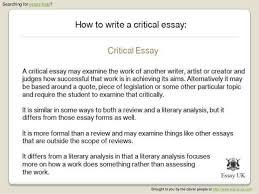 essay help help writing critical essay