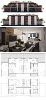 Best  Duplex Plans Ideas On Pinterest - House plans interior