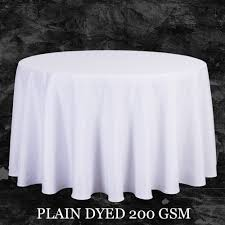 Big Size Polyester White Round Table Cloth Wedding Tablecloth Party Table  Cover Square Dining Table Linen Rectangular Wholesale-in Tablecloths from  Home ...