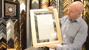 framing a double sided custom image