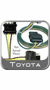 2013 2004 2014 toyota land cruiser trailer wiring harness 7 pin to 2007 2011 toyota tundra trailer wiring harness auto parts toy 08951 65001