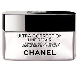 chanel ultra correction line repair. crème de nuit anti-rides - ultra correction line repair chanel beauté test
