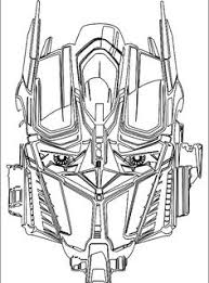 Small Picture Transformers Optimus Prime Kre O coloring Page by Mecha Zone