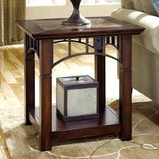 stylish small corner accent table furniture mirrored with drawer and cabinet f