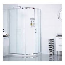 roman lumin8 two door 800 x 900 offset quadrant shower enclosure