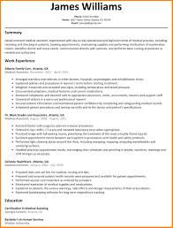 10 Resume For Medical Assistant Examples Cover Letter