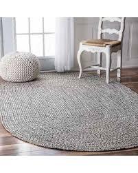 5 x 6 rug. NuLOOM Handmade Casual Solid Braided Oval Indoor/Outdoor Rug (5\u0027 X 8\u0027 5 6