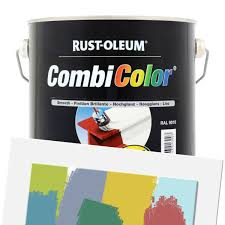 Rustoleum Combicolor Colour Chart Rust Oleum Industrial Combicolor Smooth Ready Mixed 2 5l