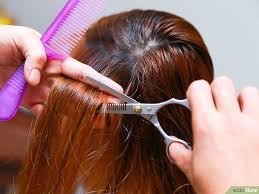 التحكم في الشعر الكثيف الخشن المموج