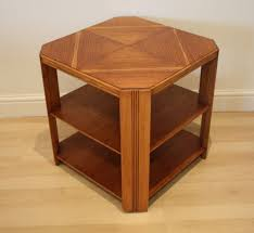 art deco 193040s octagonal style wooden coffee table occasional table side table 20th century on gumtree stylish original 193040s art deco art deco style furniture occasional coffee