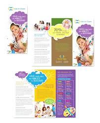 Fun Brochure Templates Childrens Brochure Template Opusv Co