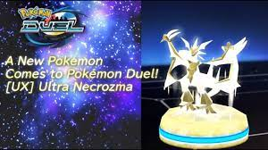 Celebrate Pokémon Duel with [UX] Ultra Necrozma and more! - YouTube