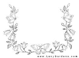 Small Picture 16 best Bordir images on Pinterest Draw Flower coloring pages