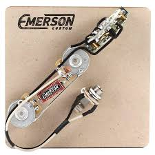 5 way nashville telecaster prewired kit emerson custom Tele Wiring Schematic at Tele Wiring Harness Upgrade