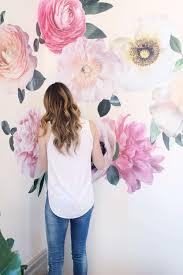 fullsize of simple flowers pastel garden flowers wall decals nursery wall s wall s flowers pastel