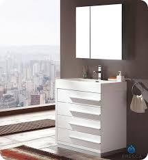 bathroom vanities 30 inch white.  Vanities Fresca Livello 30 To Bathroom Vanities 30 Inch White E