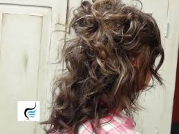 Easy Hair Style For Girl half updo easy hairstyles for girls youtube 8590 by wearticles.com