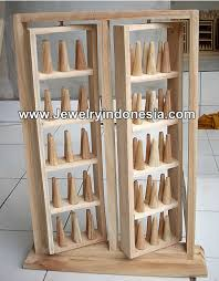 Wooden Jewellery Display Stands Interesting Jewelry Display Holders