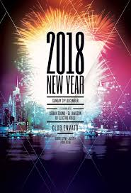 New Year Flyers Template New Year Flyer Templates For Photoshop Stylewish