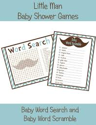Printable Mustache Baby Shower Games  Home Design InspirationsFree Printable Mustache Baby Shower Games