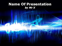 Design For Powerpoint Presentation Electricity Abstract Design Powerpoint Template