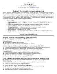 Cisco Network Engineer Cover Letter Sarahepps Com