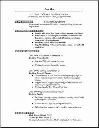 Job Pinterest Seasonal Employment Job Resume And Resume Examples