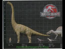 Dinosaur Sizes Comparison Chart Videos Matching Jurassic Park Jurassic World Vs Dinomaster