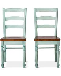 teal blue dining chairs. mulberry two tone distressed dining chairs - teal (blue) (set of 2) blue