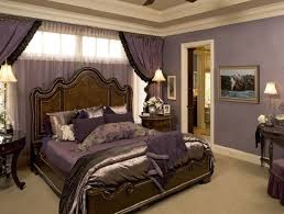 Romantic Bedroom Wall Colors Traditional Romantic Master Bedroom Ideas With Purple Wall Color