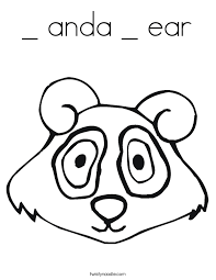 Small Picture anda ear Coloring Page Twisty Noodle